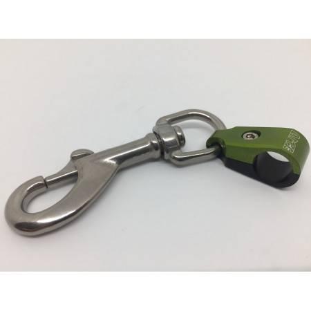 Clip de maintien pour flexible de plongée diamètre 12mm
