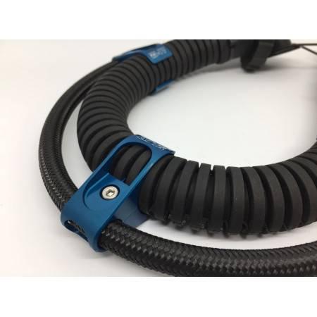 Pince de maintien de flexible de stab sur tuyau annelé - par 2