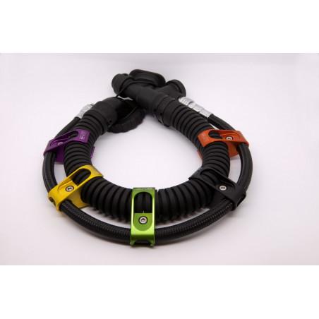 Pince de maintien de flexible inflateur sur tuyau annelé - par 2