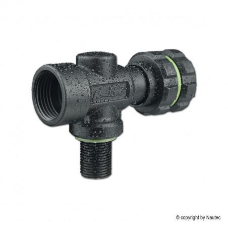 Robinet NAUTEC DARKLINE SH NITROX M26 232bar M18x1.5