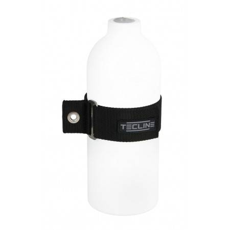 Mounting strap for 1.5L and 2L alu tanks TECLINE