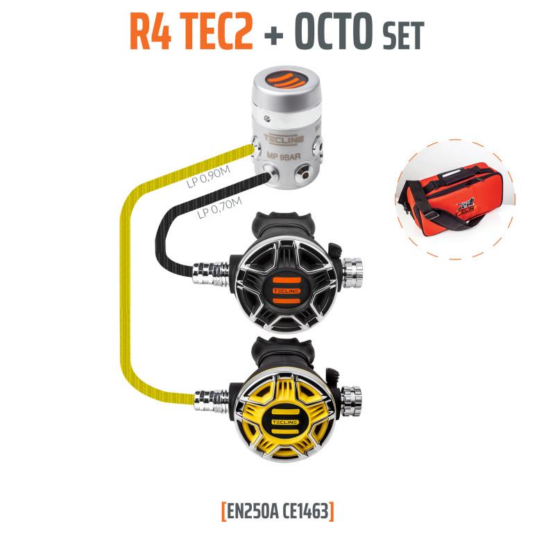 TECLINE R4 TEC / TEC2 OCTO Regulator pack - TECLINE