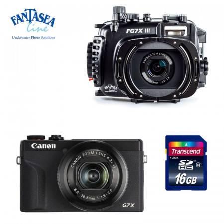 Pack caisson Fantasea FG7X M16 + appareil Canon G7X MK III