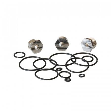 Seals and drain valve kit, normally open version