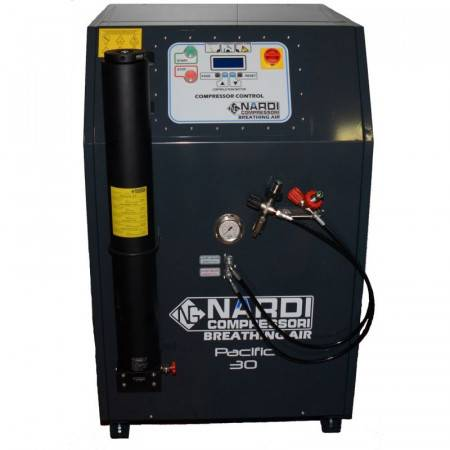 Diving compressor Nardi Pacific C27 16.2m3/h soundproofed