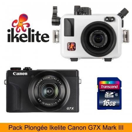 Pack G7X-III IKELITE + CANON G7X III