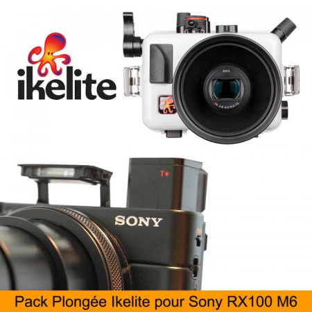 Pack caisson IKELITE pour SONY RX100 VI