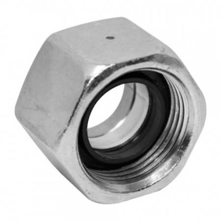 EO2 nut for light series DIN fitting and 8 mm steel pipe (500 bar)
