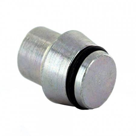 DIN obturator in zinc-plated steel Ø6mm with O-ring seal