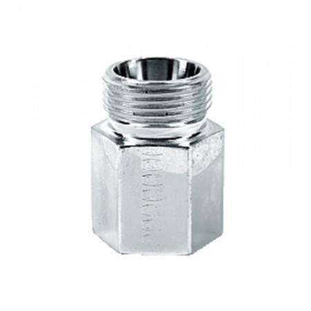 Female union BSPP cyl. heavy series DN 6, Thread 1/4 Gas, Pressure 400 bar