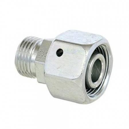 DIN swivel tube reducer, 8 mm female, 6 mm male (800 bar)