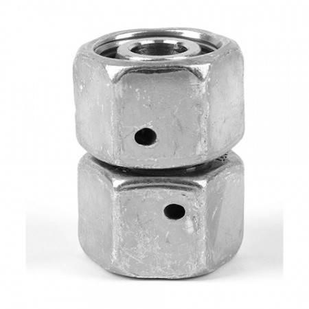 Union droite égale orientable DIN pour tube de 6 mm extérieur (500 bar)