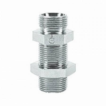 DIN bulkhead feedthrough for 8 mm pipe (800 bar)