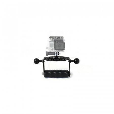 Goodman support with double spheres and tripod GoPRO CARBONARM