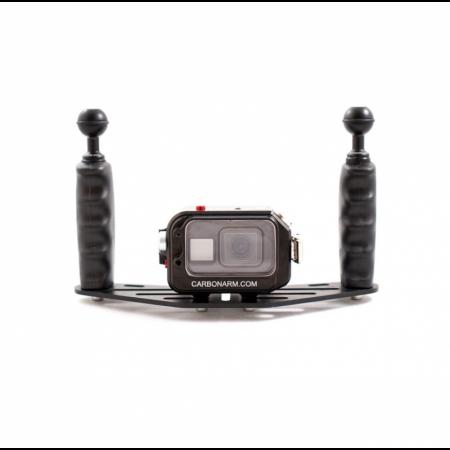 Kit boîtier GoPro avec plateau 25cm CARBONARM