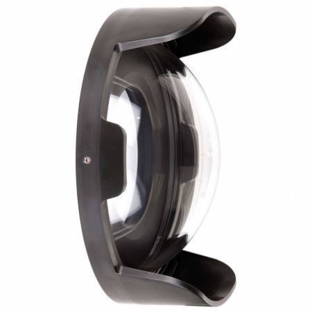 """Dome IKELITE DL 8"""" (235mm) with sun visor"""