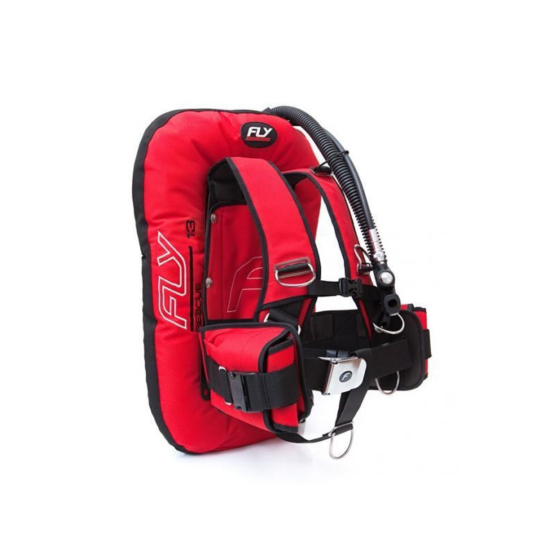 Wing FINNSUB FLY SET 13D RESCUE COMFORT ALU/SS