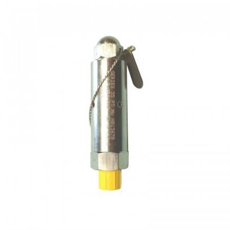 CE safety valve adjustment 150 to 250 bars