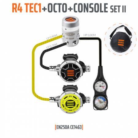 Détendeur R4 TEC1 EN250A OCTO + console 2 éléments TECLINE