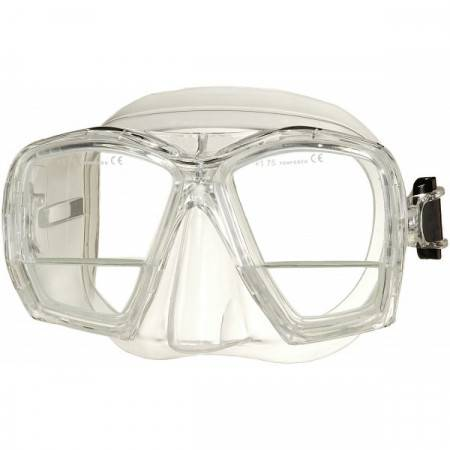 Masque de plongée avec vision de près intégrée +1.75 dioptries