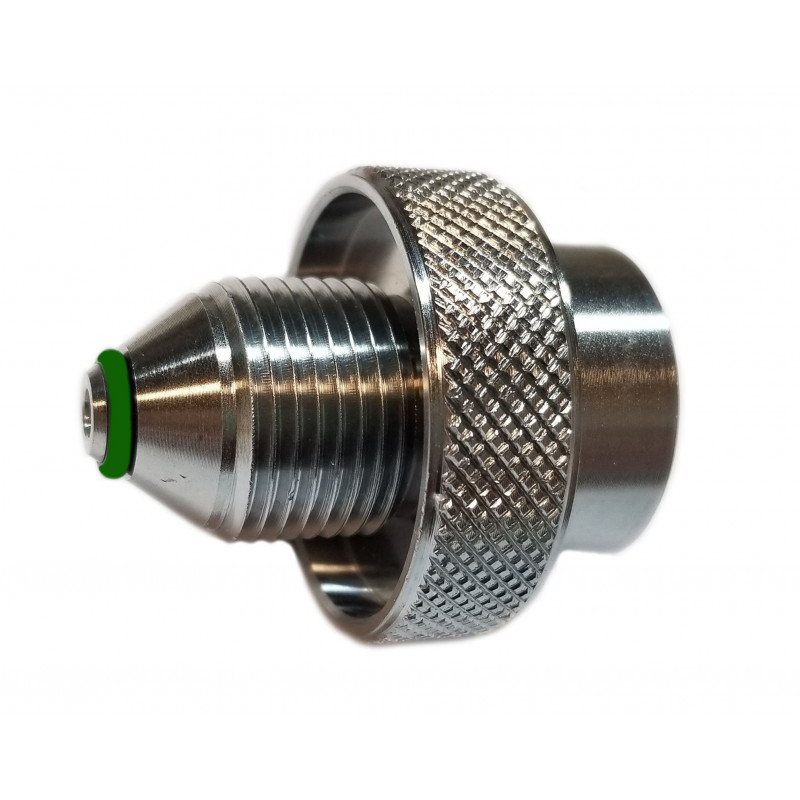 Adapter Oxygen male to DIN 200bar female