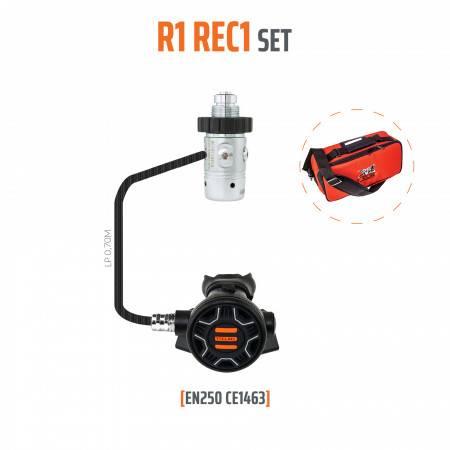 Diving regulator R1 REC1 DIN 300bar TECLINE