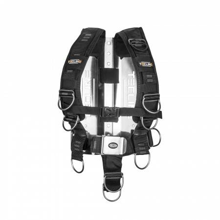 TECLINE confort harness with SS backplate 3mm