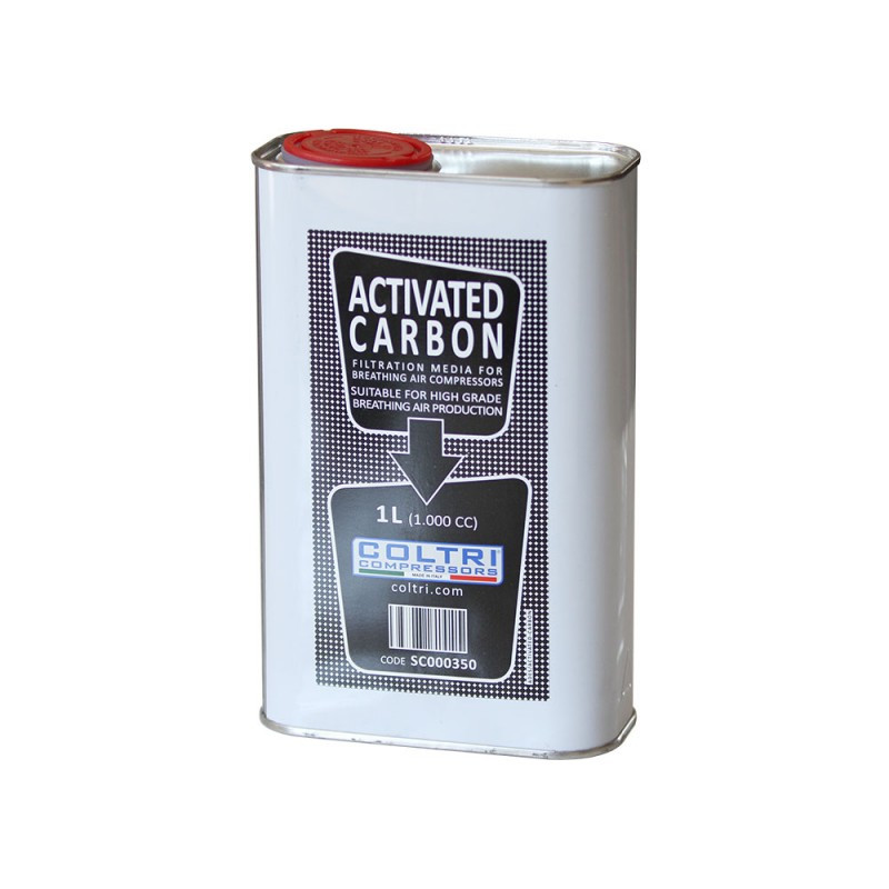 Tank of activated carbon COLTRI 1 Liter