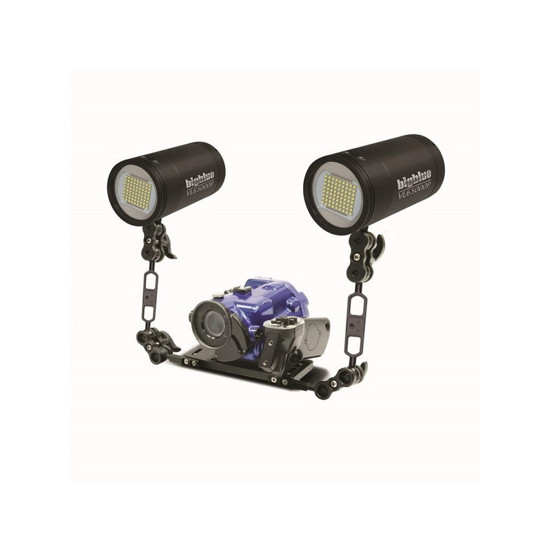 BIGBLUE VL65000P Video Diving underwater light 160 ° - 65.000 Lm