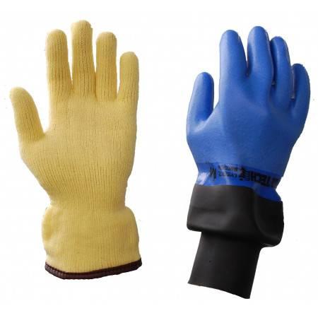 Gant étanche SI-TECH avec manchette et sous-gants inclus