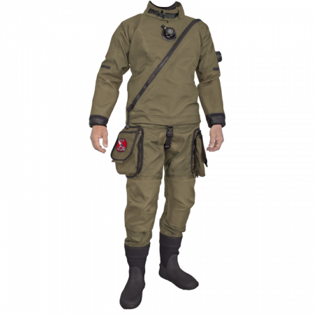 Trilaminated NATO drysuit Solo Shipboarding DiveSytems