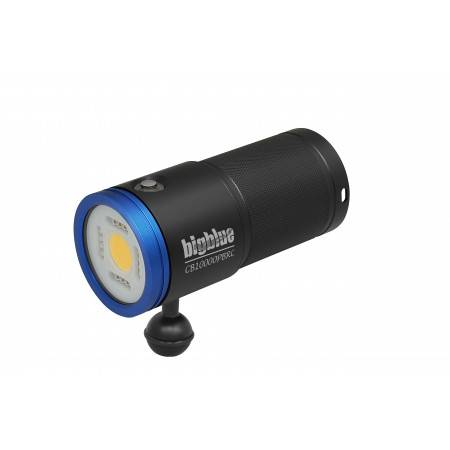 BIGBLUE CB10000PBRC video dive light - LED light 120°