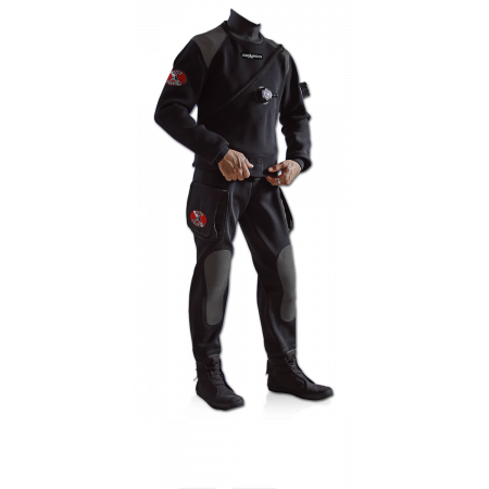 Neoprene 2mm drysuit Easy Dry DiveSytem
