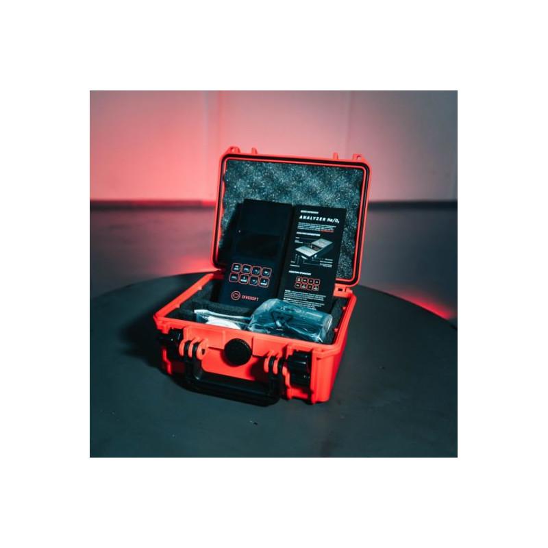 DIVESOFT Pack analyseur de gaz oxygène hélium plongée