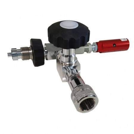 Secure PCP cartridge filling station