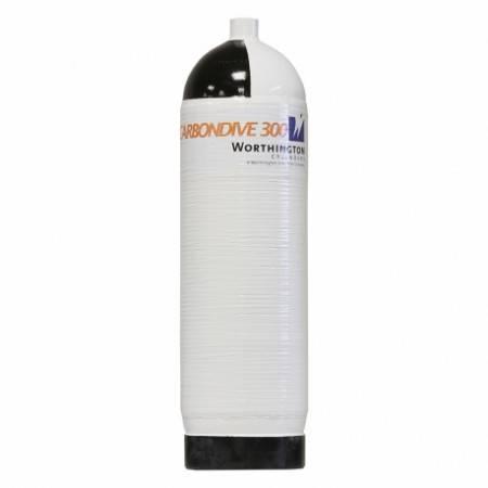 12 liter carbon tank Carbondive 300bar single
