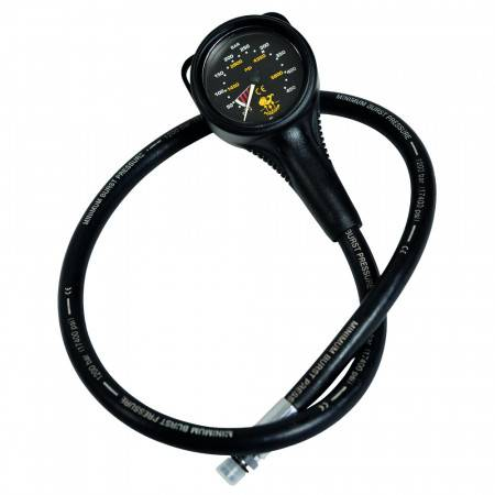 POSEIDON pressure gauge 0-450bar black background