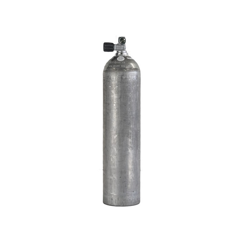 Bouteille de plongée aluminium 7L LUXFER avec robinet mono