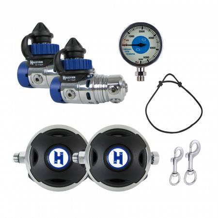 Diving regulator pack HALCYON H75