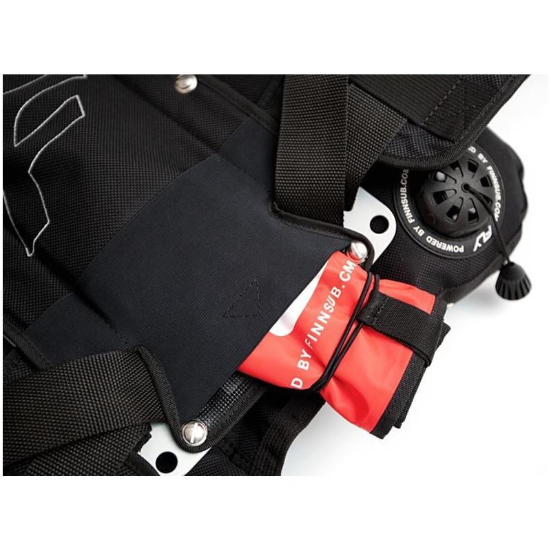 Finnsub FLY DIR Harness alu/SS backplate