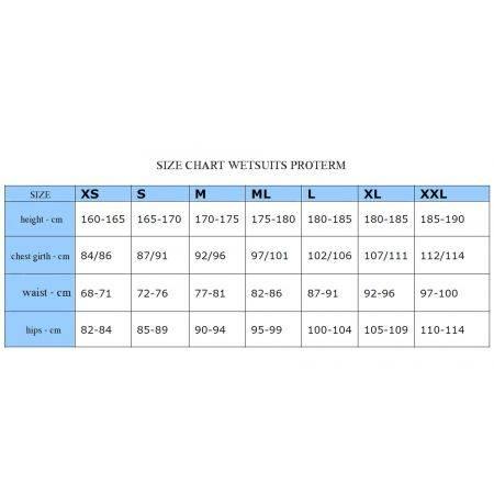 Combinaison de plongée Prothern II 7mm SCUBATECH, GILET UNIQUEMENT