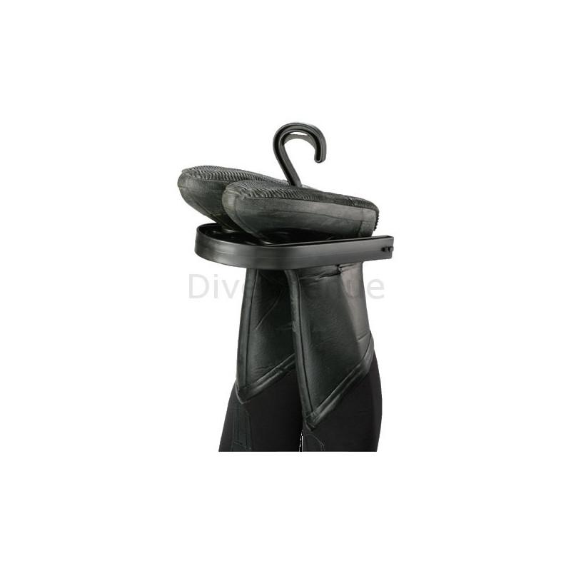 Scuba drysuit hanger