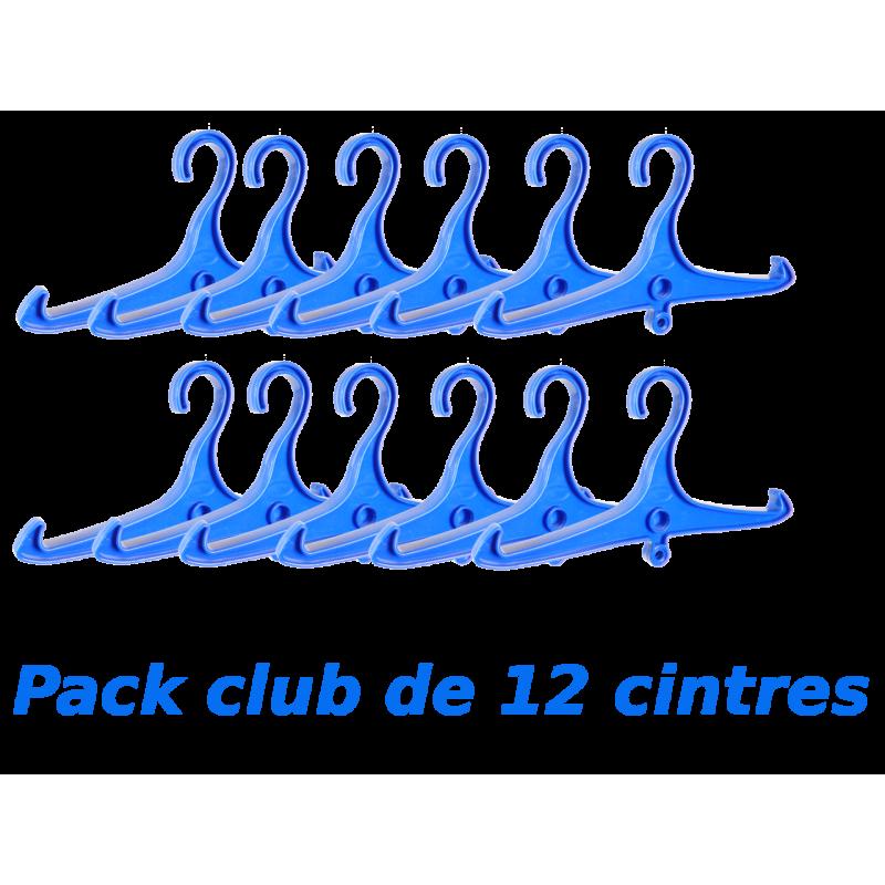 Pack club 12x cintres spécial stab ou combinaison