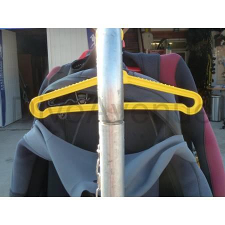 Dive suit hanger - pack of 12x pieces