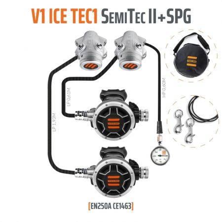 Regulator V1-TEC1 semi-tec 2 SET - TECLINE