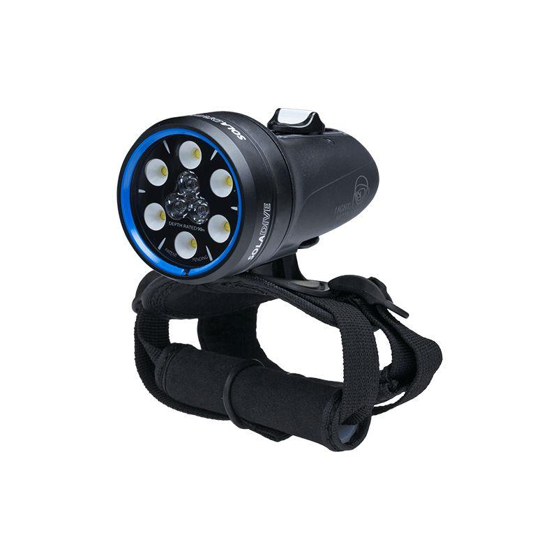 Phare Sola Dive 800 S/F Light & MotionSpot 12°/Flood 60°