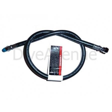 Rubber high pressure hose 80cm