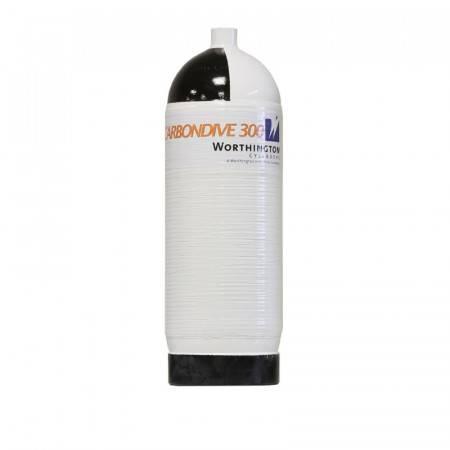 10 liter carbon tank Carbondive 300bar single
