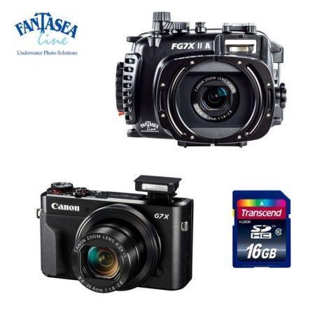 Pack caisson Fantasea FG7X-IIA + appareil Canon G7X MK II