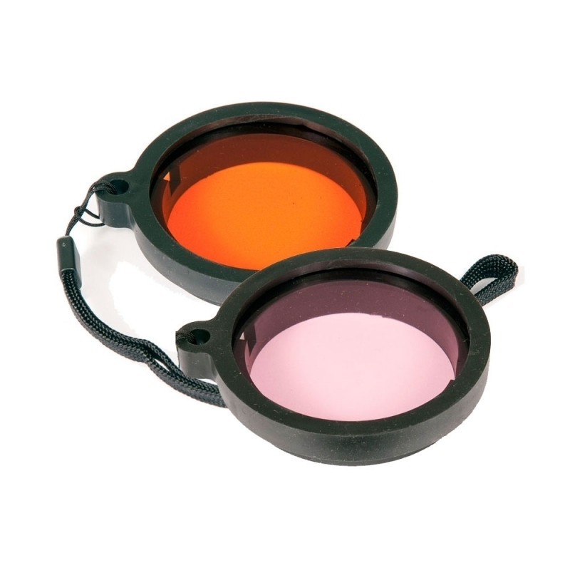 """IKELITE 56mm/2.2"""" clip-on filters for compact housings"""
